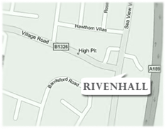 map for rivenhall dentists